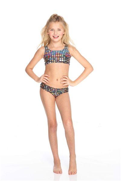 a6889b0aed Sports Bra Bikini, Bikini Girls, Kids Swimwear, Swimsuits, Bikinis, Girl  Emoji