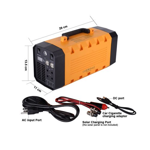 Http Www Captainbattery Com Upfile 2017 05 26 220v 110v 12v 5v Output Portable Ups Ac Dc Power Supply With Lithium Ups Power Ups Power Supply Solar Charging