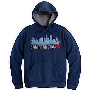 Disney Mickey Mouse Hoodie for Adults - San Francisco | Disney StoreMickey Mouse Hoodie for Adults - San Francisco - You'll enjoy a striking image of San Francisco's famous skyline with this Mickey Mouse Hoodie. With its soft cozy lining, it'll provide lots of warm memories of your trip to the Bay Area.
