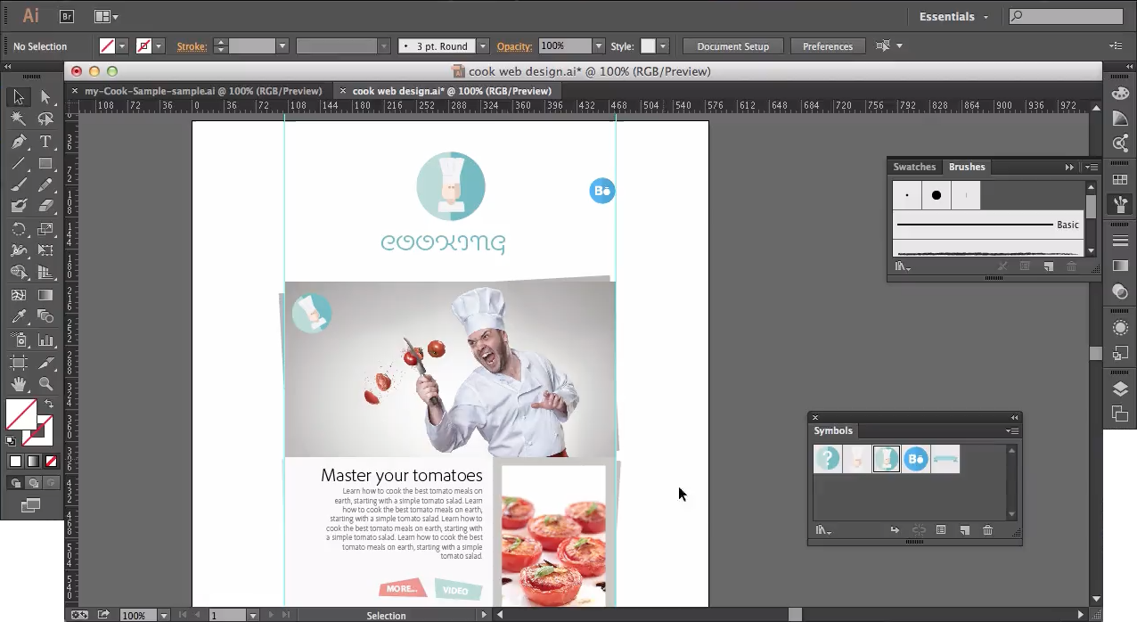 Adobe Illustrator Cc For Web Designers Create Adobe Design Adobe Photoshop Tutorial Design Adobe Photoshop Tutorial