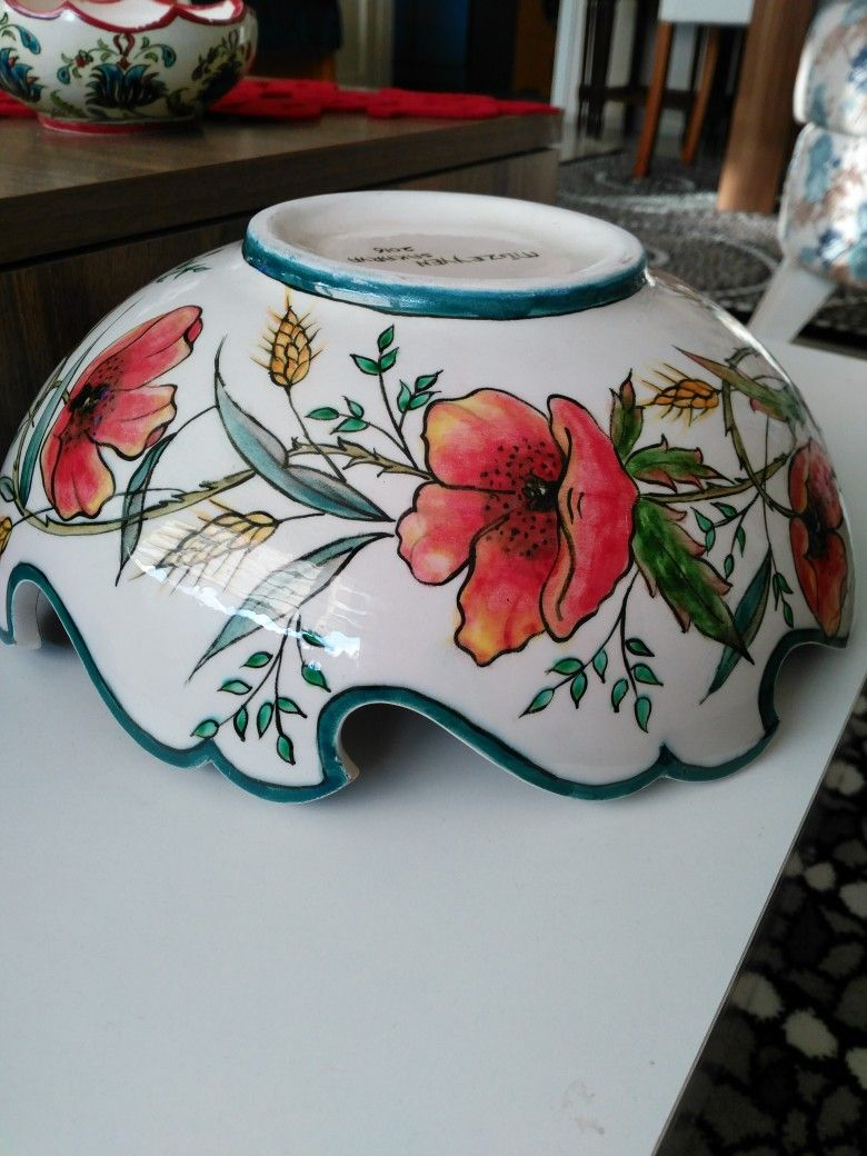Ceramic Plates Ceramic Art Hand Painted Ceramics Painting Flowers Pottery Painting Pottery Ideas Terracotta Modern Ceramics Dishes & Pin by Sema CetiNkaya on cini tabak....tiles....plate | Pinterest ...