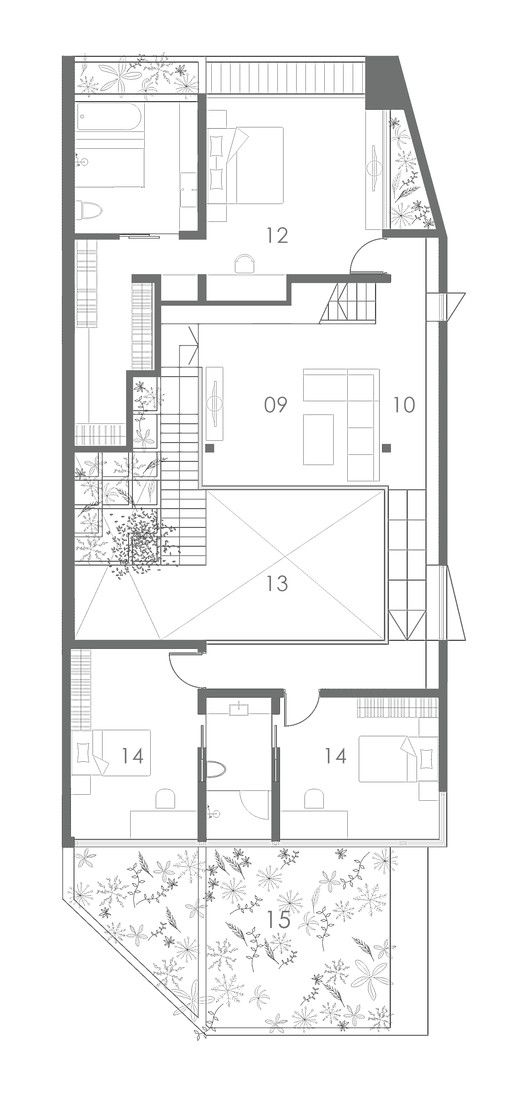 Gallery Of Terrace House Formwerkz Architects 11