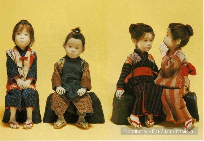 Авторские японские куклы Yuki Atae (Юки Атае)
