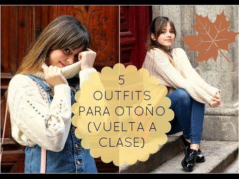 5 OUTFITS para vestir en OTOÑO | SIILVIA123BELLA - YouTube