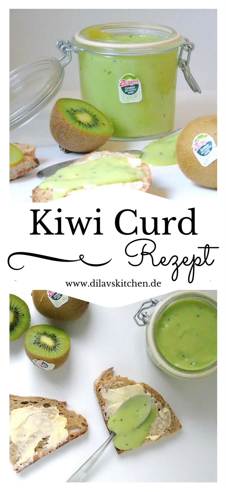 Photo of Kiwi Curd – Cremige Glanz durch Zespri Green Kiwi – Ministrant.Me.