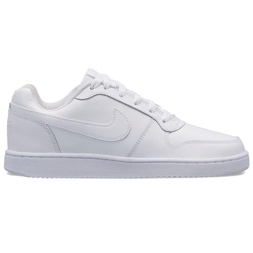 Nike Ebernon Low Women's Sneakers, White Nike, joggesko  Nike, Sneakers