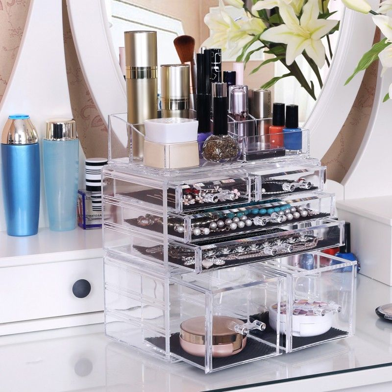 SONGMICS SELECTED MATERIAL Makeup Organizer Jewelry and