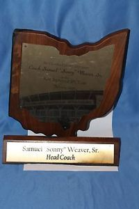 Draft Day Cleveland Browns Sonny Weaver SR Set Decorations Prop Ellen Burstyn | eBay