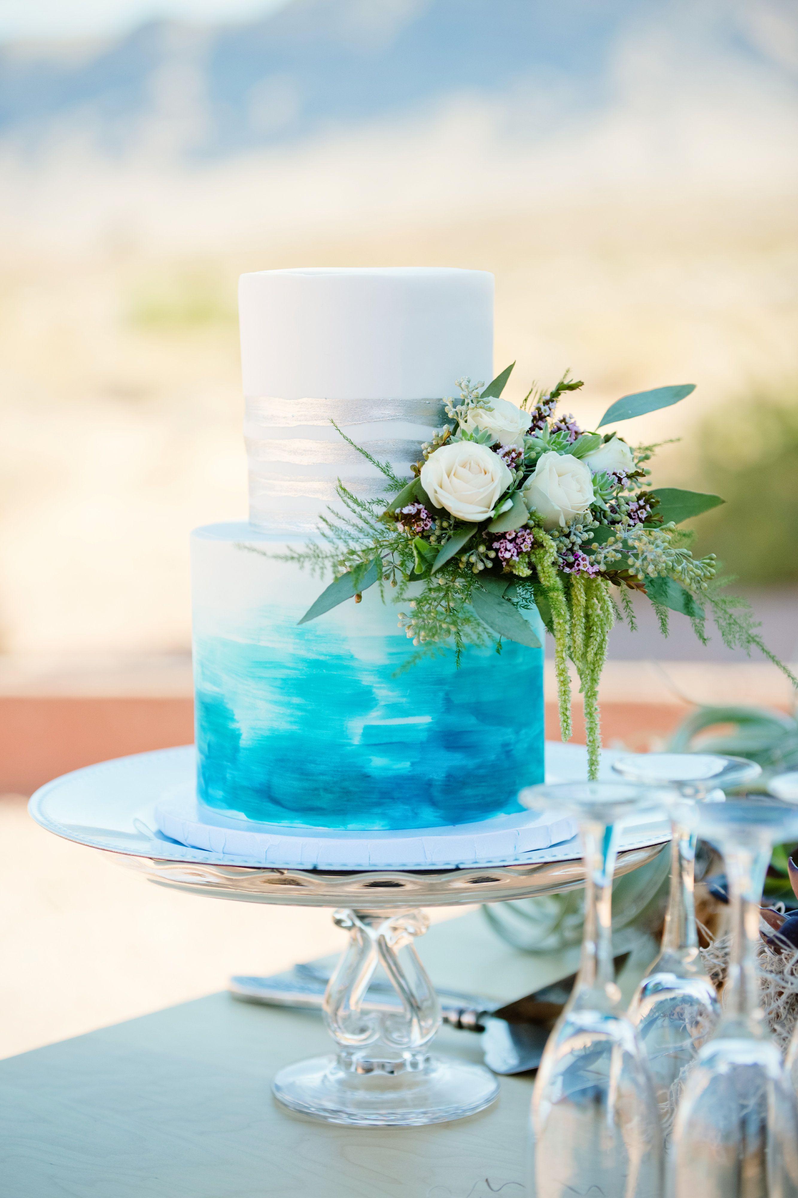 Desert enchantment in a las vegas destination wedding in