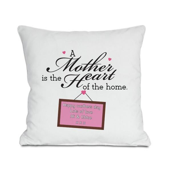 Mother S Day Gift Heart Of The Home Personalised Cushion