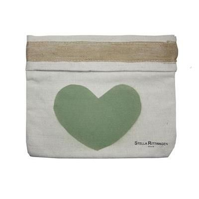 #Clutch Carmen corazón verde - #StellaRittwagen - #Complementos - #iLovePitita