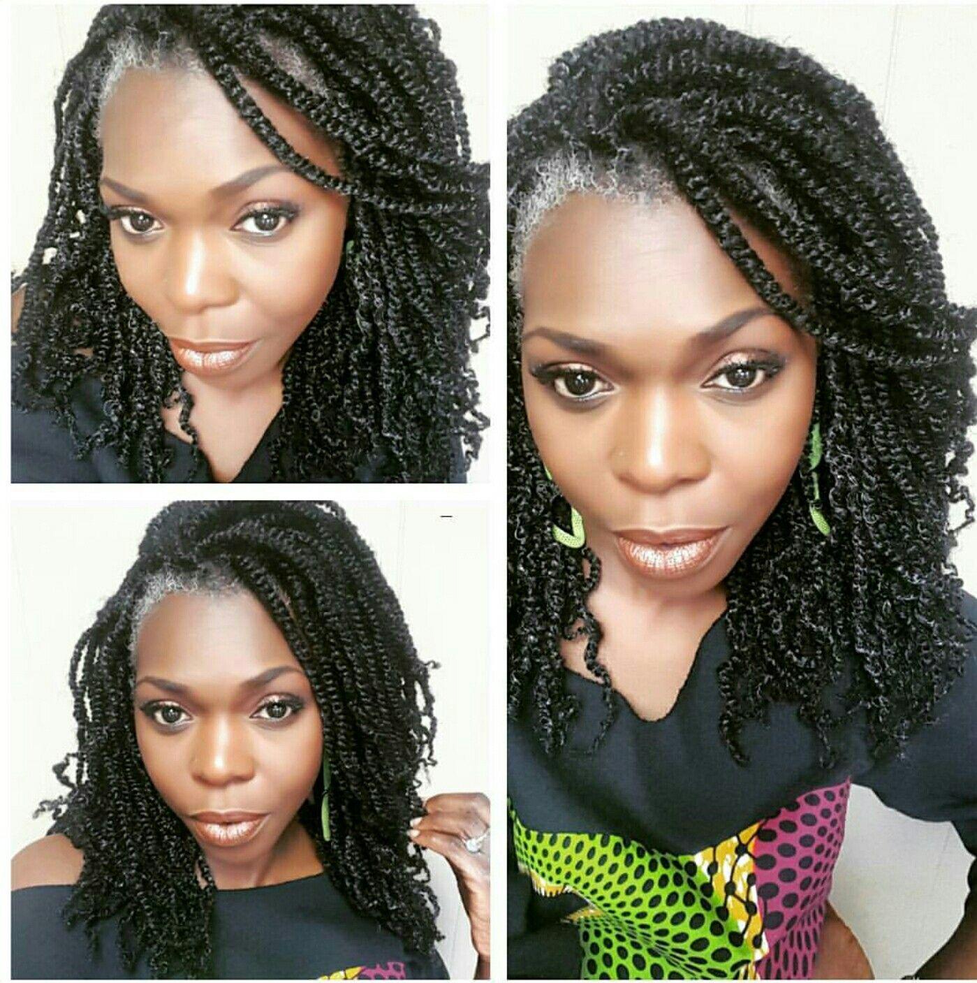 Grey 2 Strand Twist Extensions By Necijones For Mandisa Ngozi
