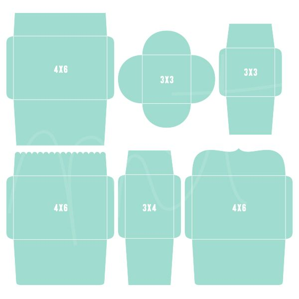 envelope template for 4x6 card - Google Search Misc Pinterest