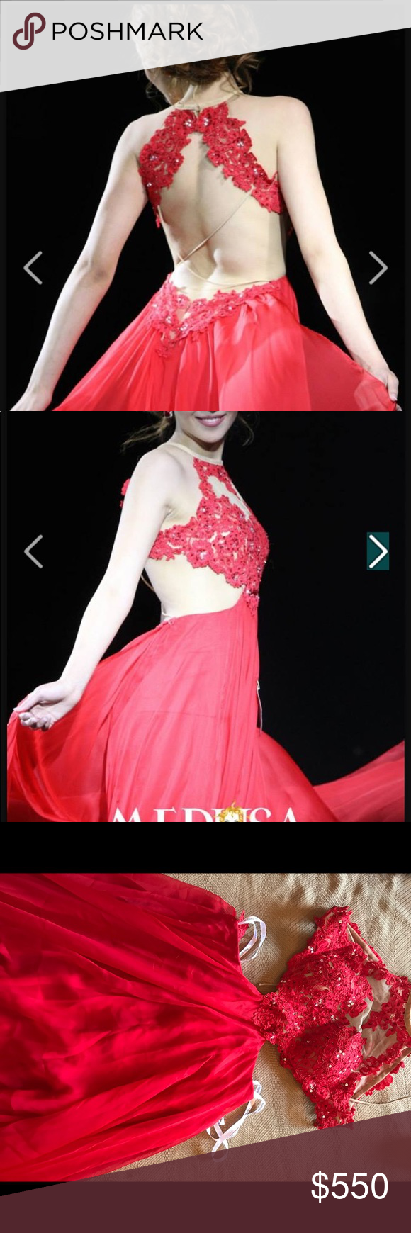 Long red dress | Pinterest