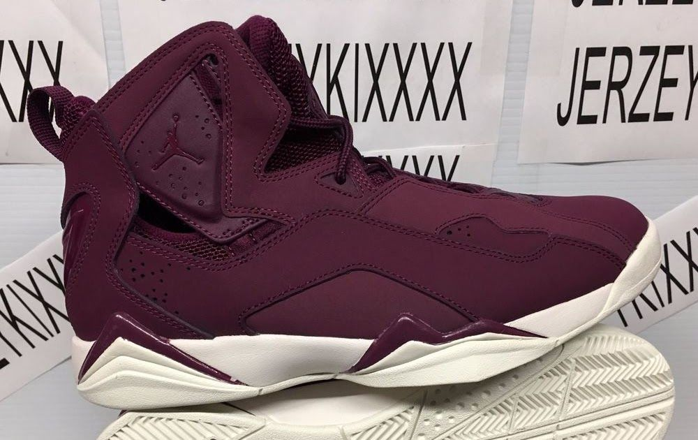 c5107108889  342964 625  BORDEAUX JORDAN TRUE FLIGHT MEN S SAIL MAROON NEW BURGUNDY SZ  8-13