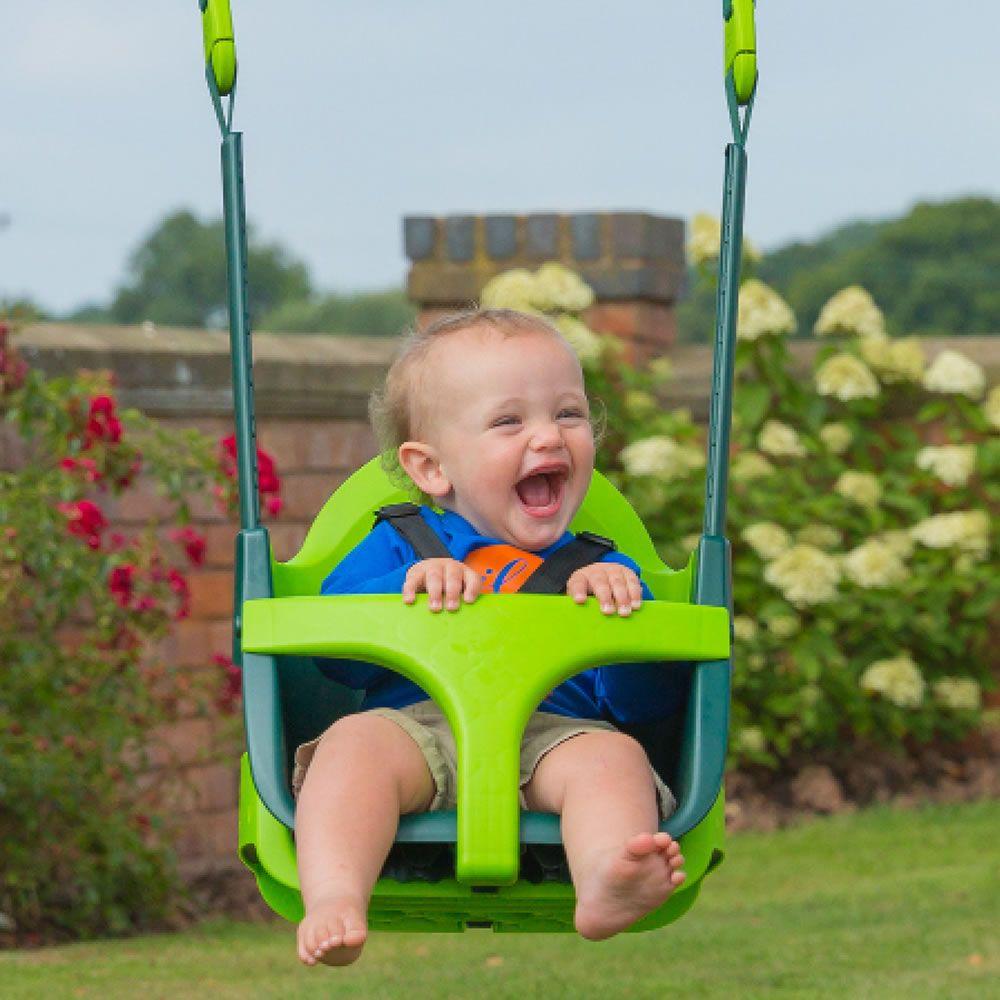 The Grow With Me Swing Hammacher Schlemmer Baby Swing Seat Kids Swing Baby Swings
