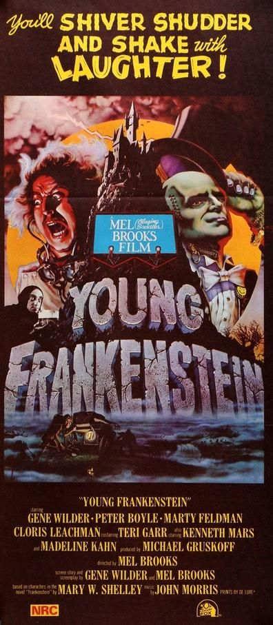 Young Frankenstein (1974) in 2019 | Original Movie Posters ...
