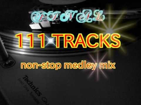 80s dance music nonstop remix - 111 TRACKS medley mix