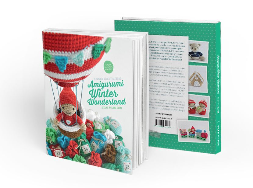 Amigurumi Winter Wonderland - by Ilaria Caliri aka Airali - patterns book Now in presale on Amigurumipatterns.net!