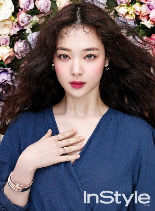 Sulli is more beautiful than ever for upcoming issue of u0027InStyle - förde küchen kiel