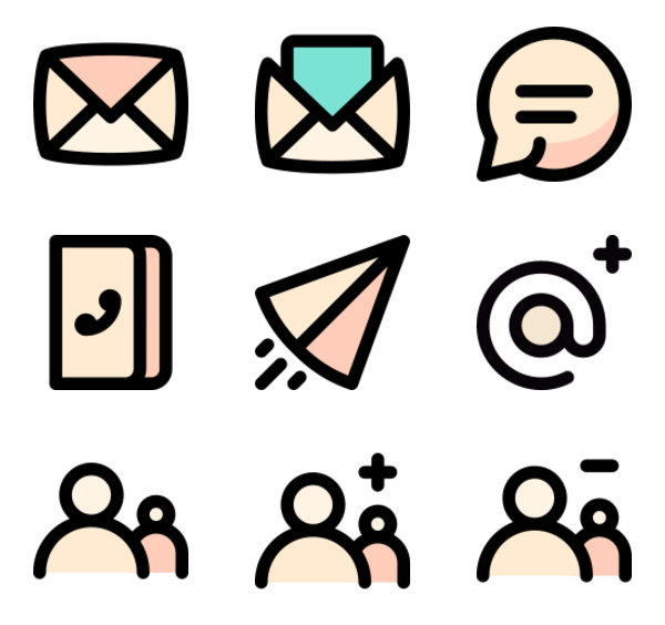 50 Free Vector Icons Of Communication Designed By Bqlqn Communication Icon Free Icons Communication Design