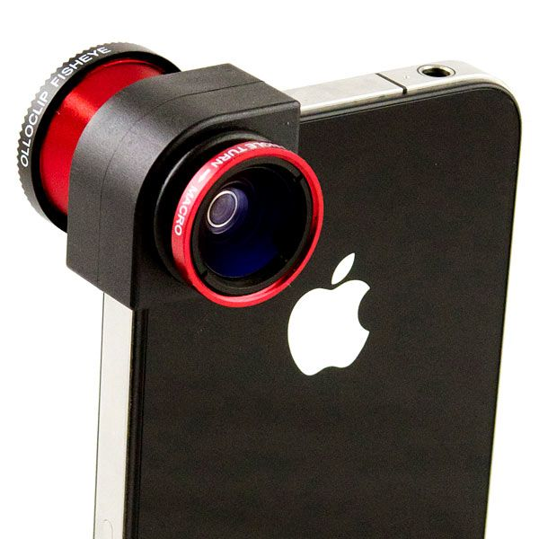 Olloclip - iphone quick-connect lens system (fisheye, wide-angle, macro) U$70