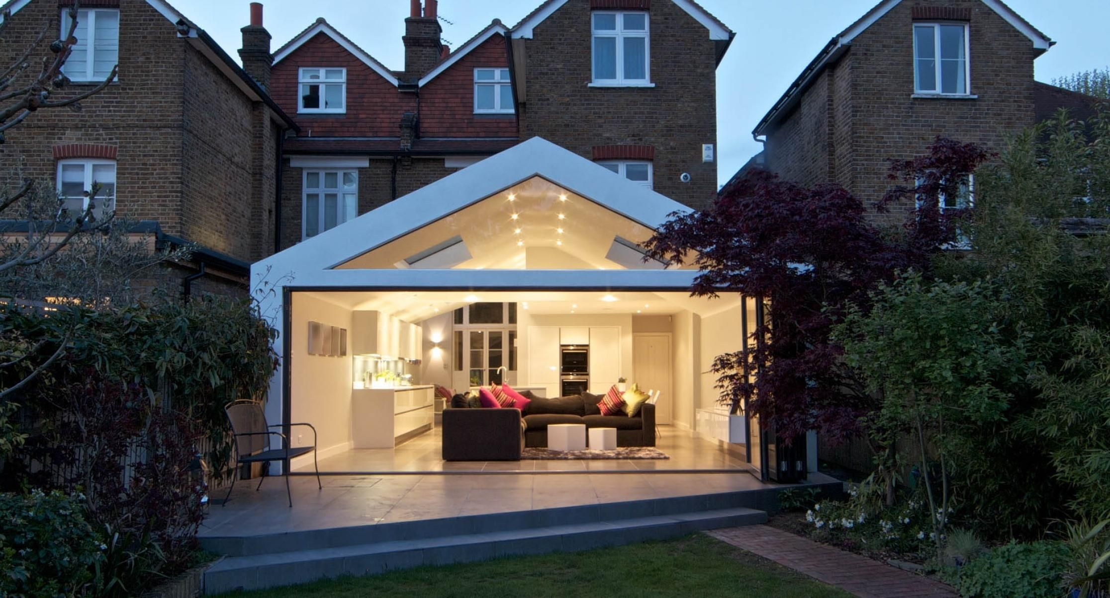 Contemporary single storey extension   home decor that I love ...