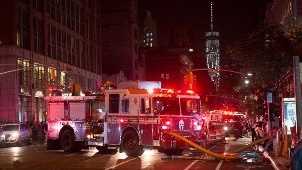 Explosie in Chelsea: schrik in New York na week van 9/11-herdenkingen