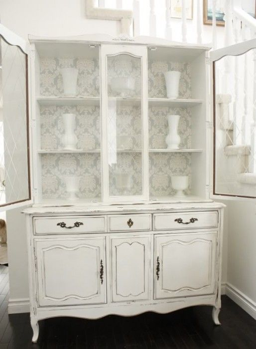 Pin On My My My Aren T You Crafty White dresser glass doors wallpaper