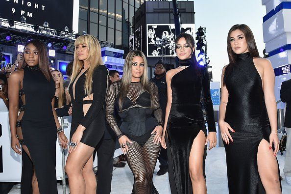 Fifth Harmony SLAYING THE FREAKING VMA'S WHITE CARPET   Pinterest: @Kayla5H
