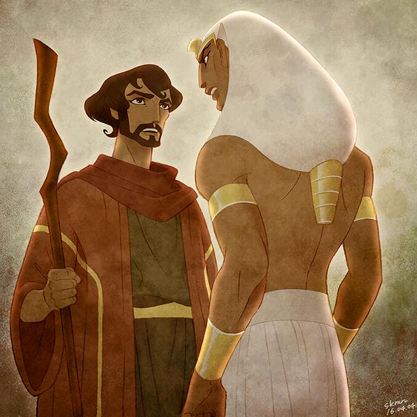 Resultado De Imagem Para Moses And Ramses Principe Do Egito
