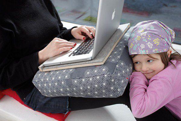 Notebook Tablett Fur Couch Nerds Laptop Kissen Knietablett Und