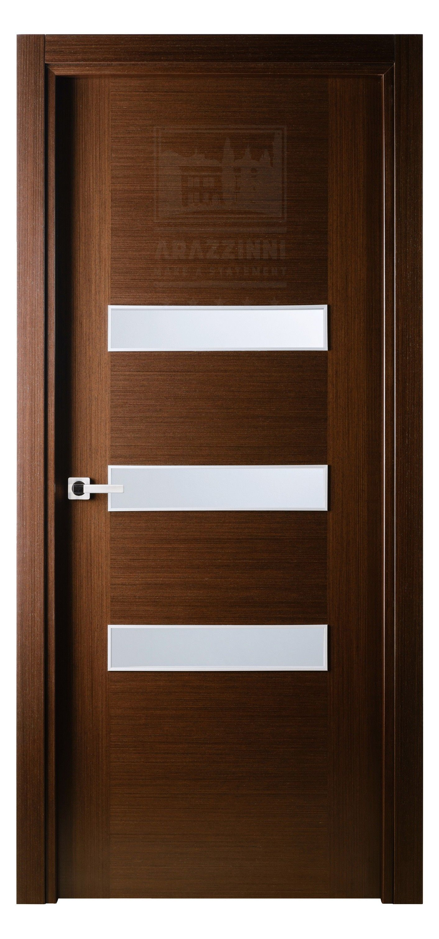 Antha Gele Interior Door in Italian Wenge Finish & Antha Gele Interior Door in Italian Wenge Finish | Exotic Wood ...