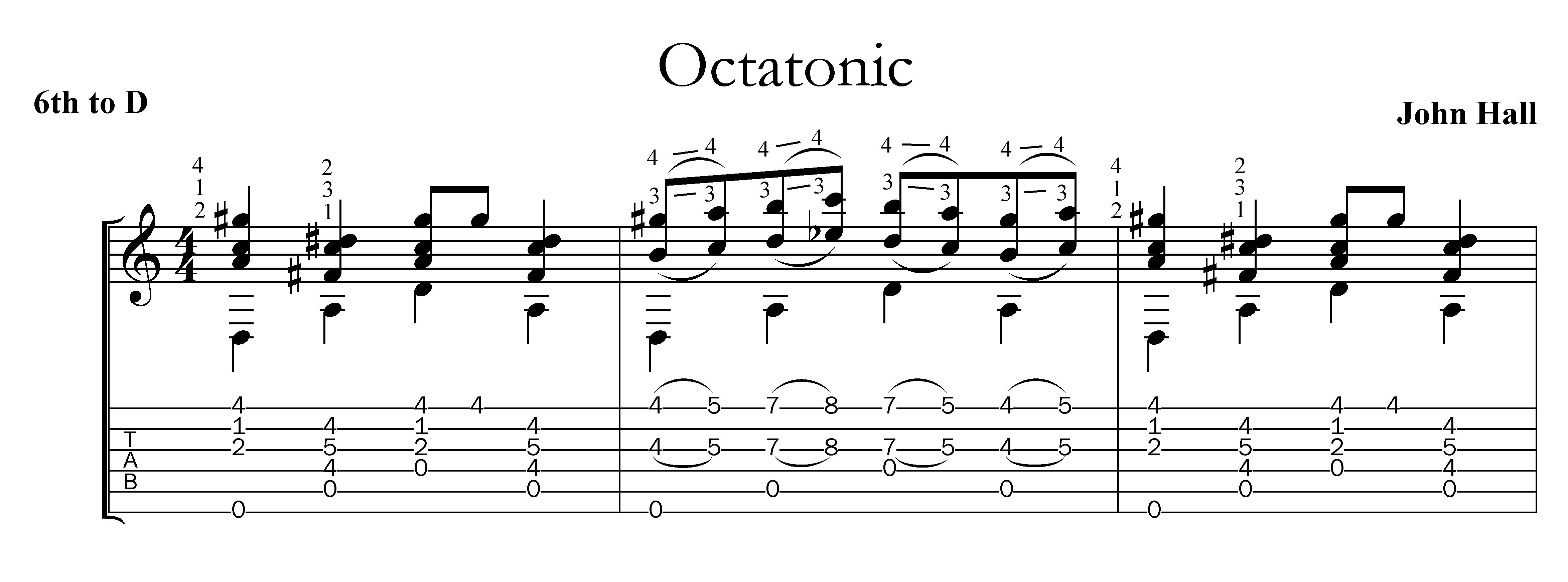 Image Result For Octatonic Scale Guitar Sheet Music Music Guitar