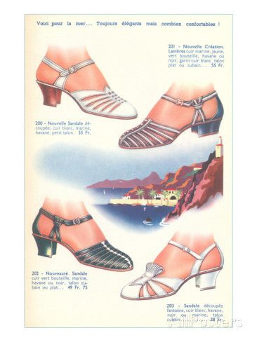 Catalog for French Shoes