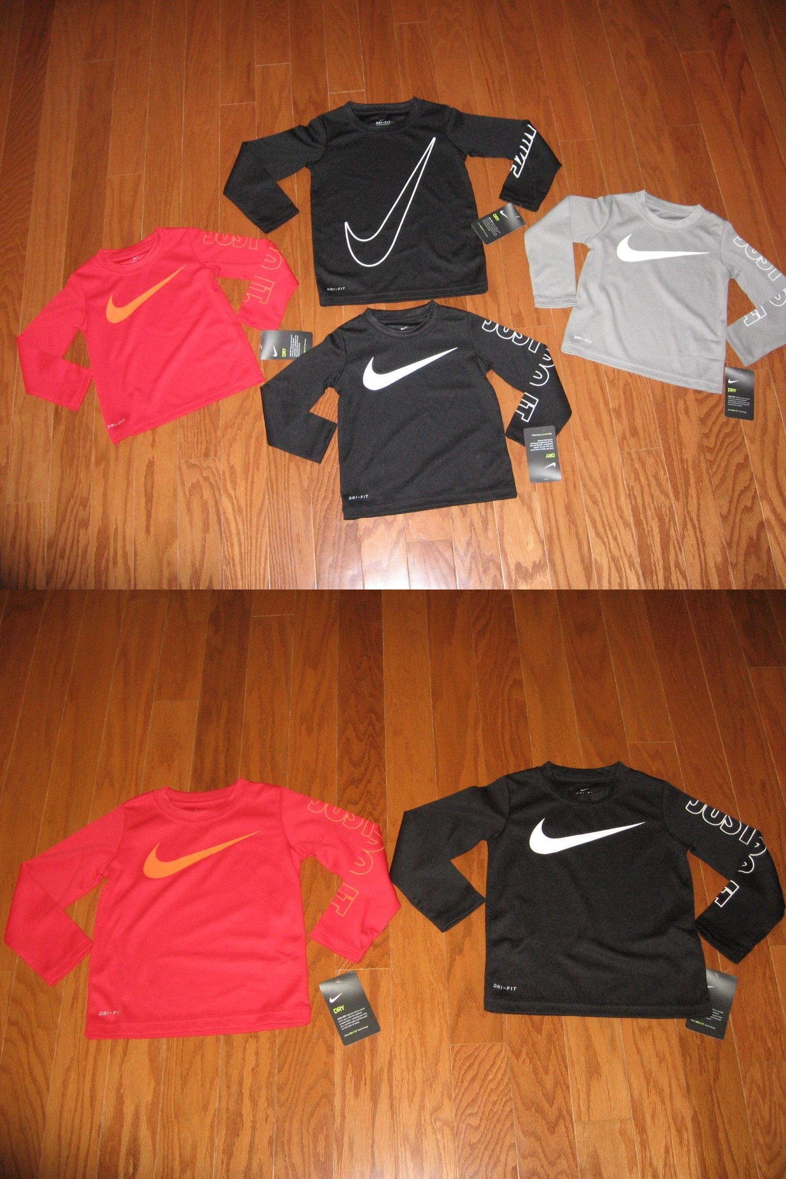 acde6a9ac9 Boys Clothing Newborn-5T 147317: Nike Long Sleeve T-Shirt Boys Size 2T 3T  4T Nwt -> BUY IT NOW ONLY: $19.99 on #eBay #clothing #sleeve