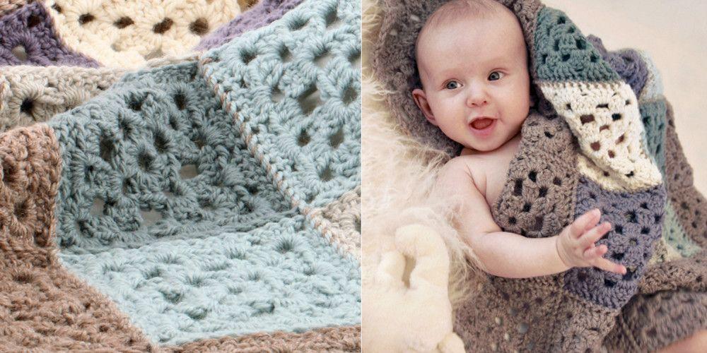 Ganchillo: 5 patrones gratis para bebés   Proyectos que intentar ...