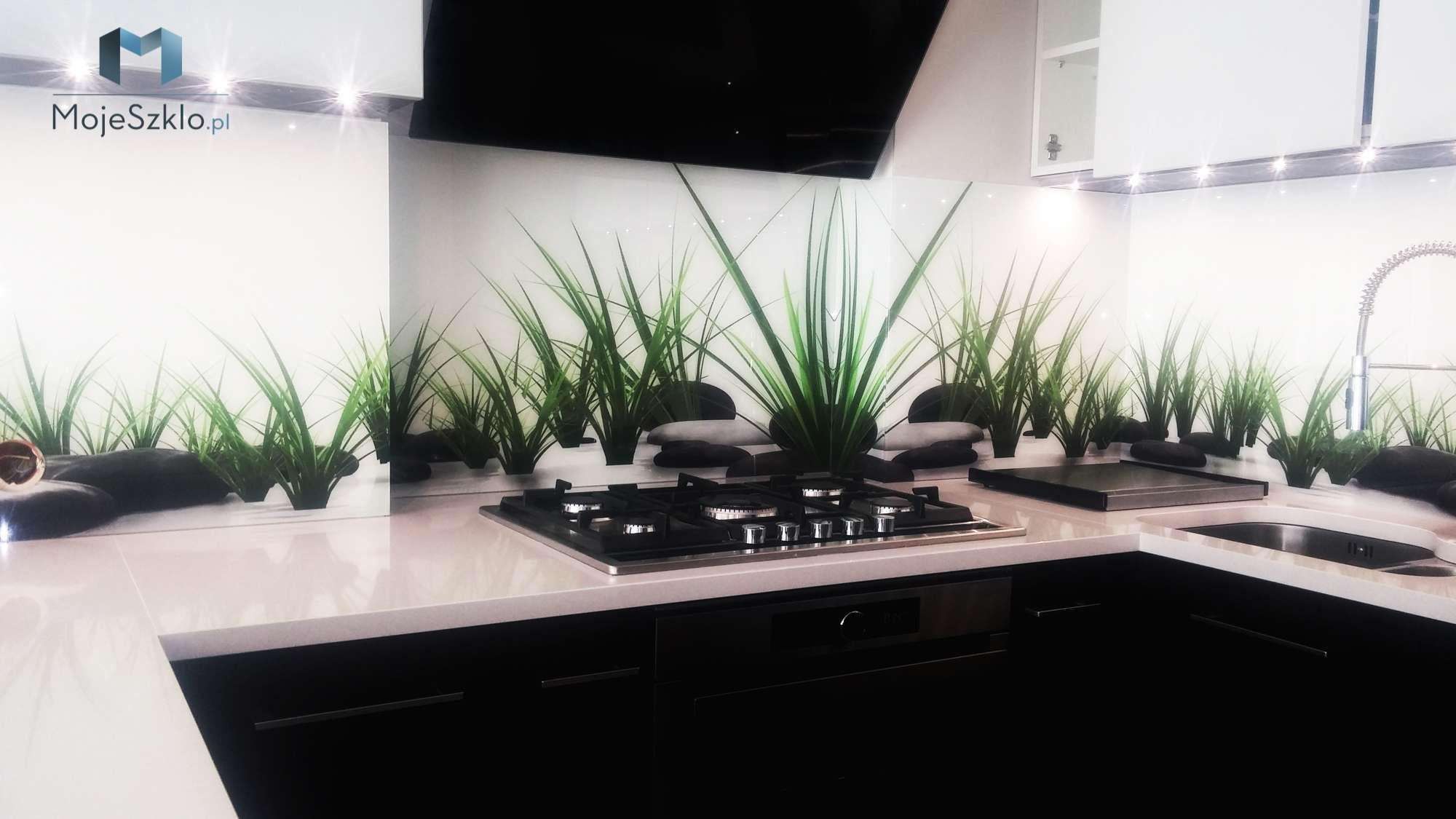 Grafika Na Szkle Trawa Plants