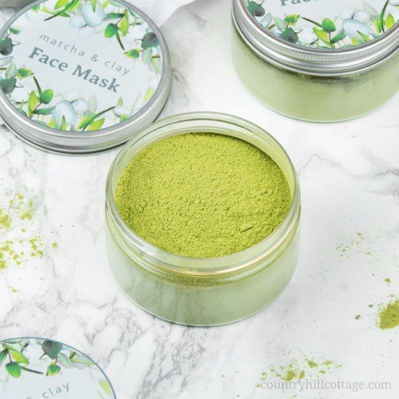 Photo of Matcha Green Tea Clay Mask for Glowing Skin
