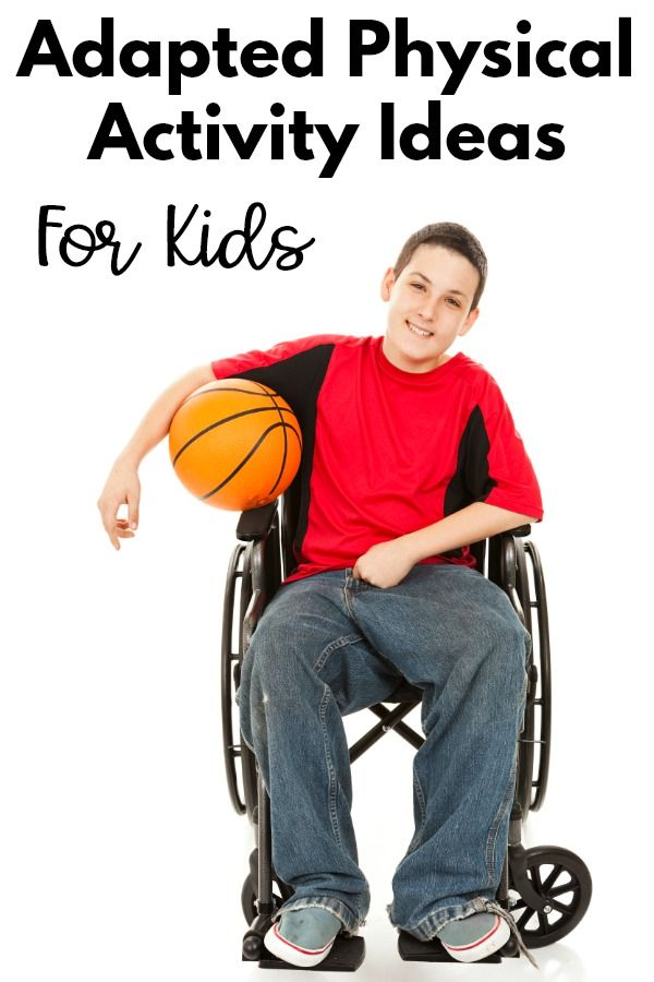Adapted Physical Activity Ideas For Kids | Pink Oatmeal