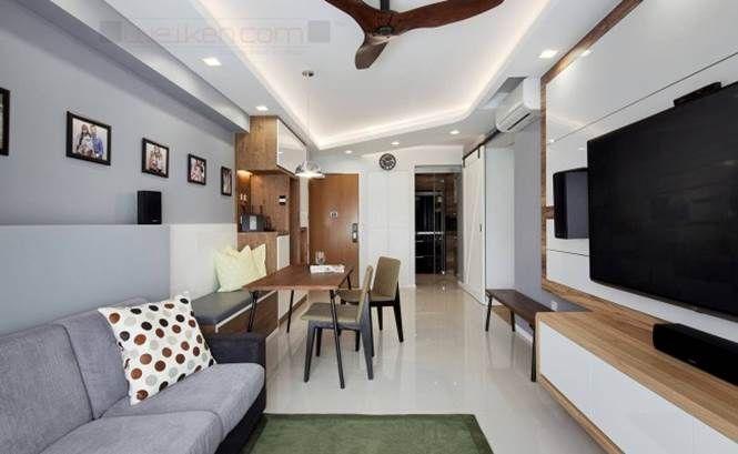 Project By Weiken #interiordesign #livingroom #renovation