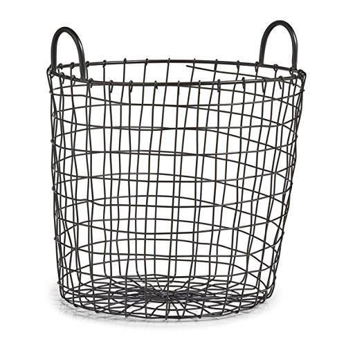 Zeller Korb Metall Schwarz Mobla 1 Korb Badezimmer Aufbewahrung Korb Badezimmer Aufbewahrung