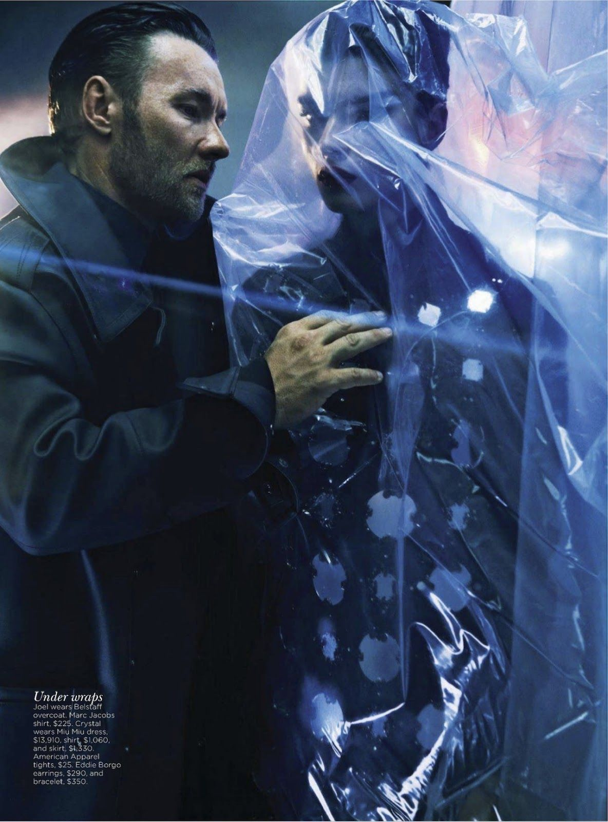 dangerous days: crystal renn and joel edgerton for will davidson for vogue australia september 2012 | visual optimism; fashion editorials, shows, campaigns & more!