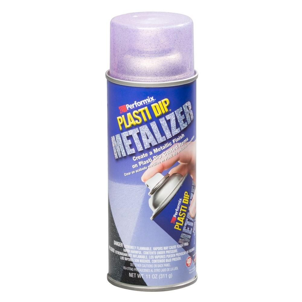 Plasti Dip 11 Oz Violet Metalizer 6 Pack 11244 6 The Home Depot Spray Can Spray Dips
