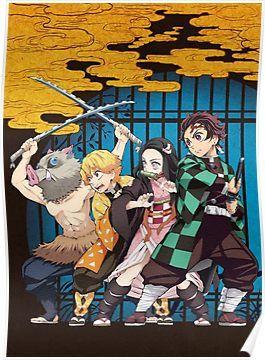 kimetsu Poster