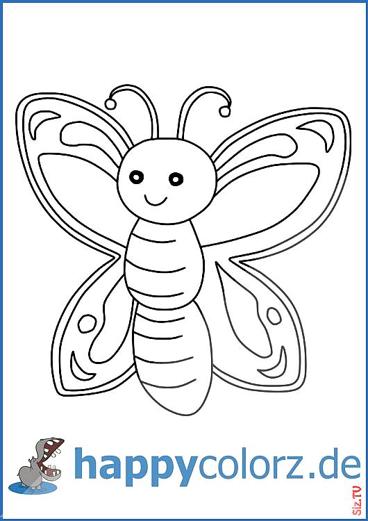 Ausmalbild Schmetterling Ausmalbild Schmetterling Happycolorz Ausmalbilder Happycolorz De Ausmalbilde Coloring Pages Butterfly Coloring Page Realistic Drawings