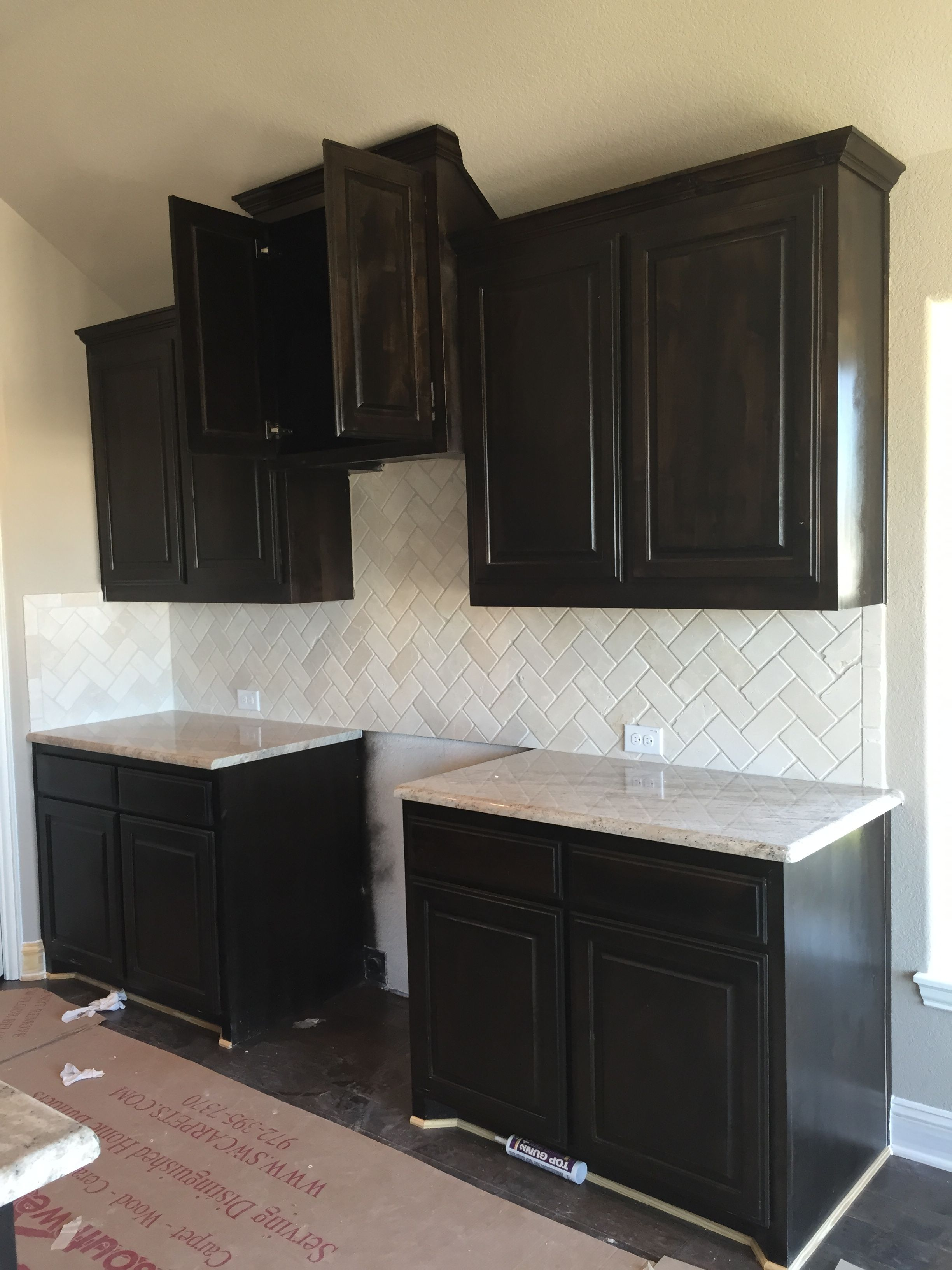 New Construction Kitchen Granite Installation 3cm Astoria