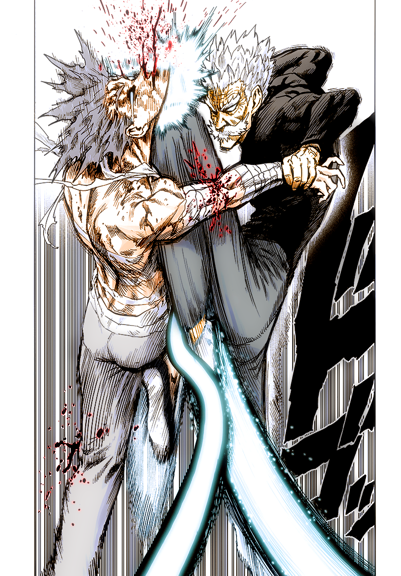Garou been not so lucky One punch man manga, One punch