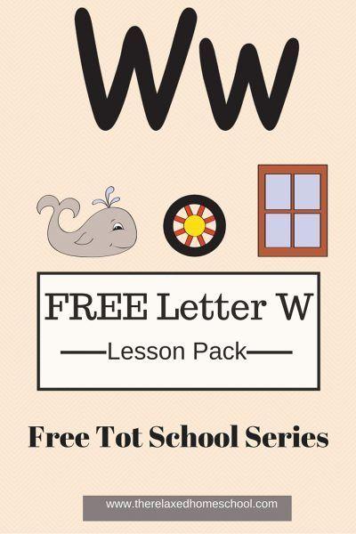 Week 7: Day 4- FREE Tot School
