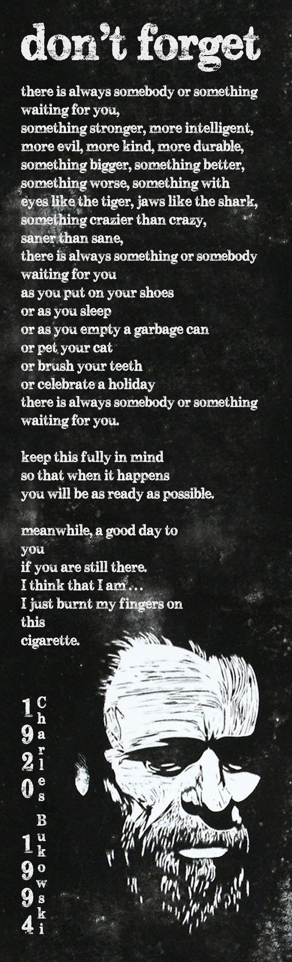 on love charles bukowski pdf
